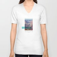 parks V-neck T-shirts featuring National Parks: Grand Canyon by Roadtrippers