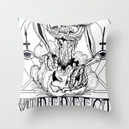 THIS TIME IMPERFECT Throw Pillow