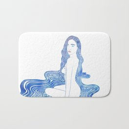 Water Nymph CII Bath Mat