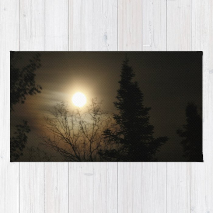 Moon Halo Rug