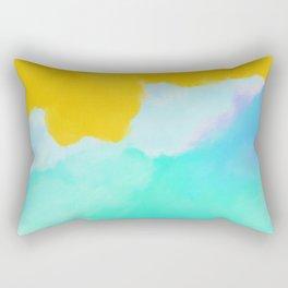 Summer color mood Rectangular Pillow