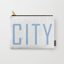 City Powder Blue Carry-All Pouch