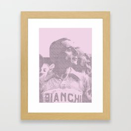 Giro Legends – Coppi. Giro Edition. Framed Art Print