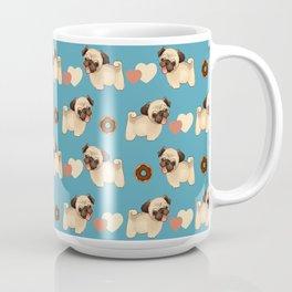 Pugs and Donuts Coffee Mug