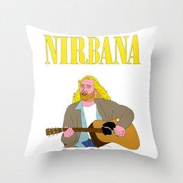 Nirbana Throw Pillow