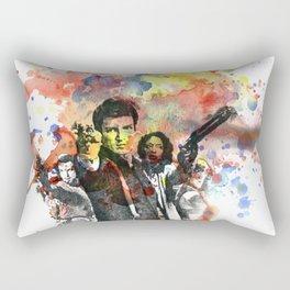 Fire Fly Poster Rectangular Pillow