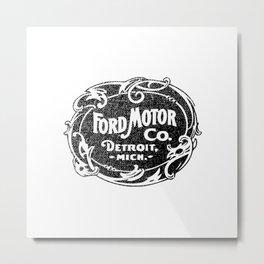Old car company logo Metal Print
