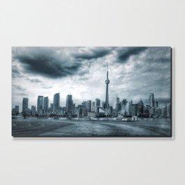 Toronto Skyline from Billy Bishop Airport Canvas Print