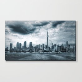 Toronto Skyline from Billy Bishop Airport Canvas Print