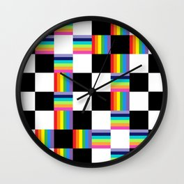 Chessboard 2013 Wall Clock