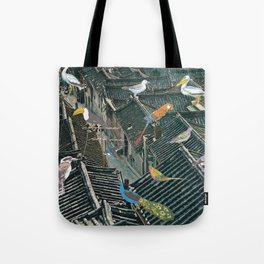 Bird Town Tote Bag