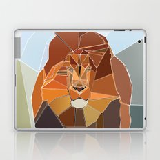 Crystal Lion Laptop & iPad Skin