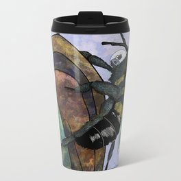 The Bee Travelers Metal Travel Mug