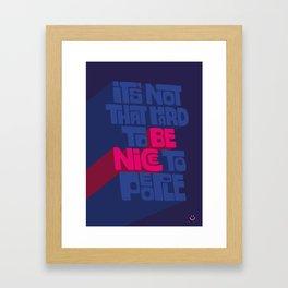 804b6c2d4fade Custom Quote Framed Art Prints | Society6