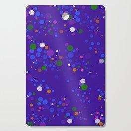 Blue Polka Cutting Board
