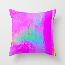 08-03-13 (Cave Glitch) Throw Pillow