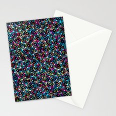 Stardust Geometric Art Print. Stationery Cards
