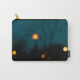 Blurry Night Carry-All Pouch