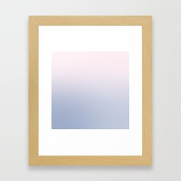 gradient #001 Framed Art Print
