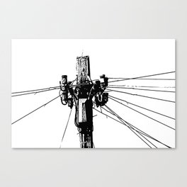 Communication Canvas Print
