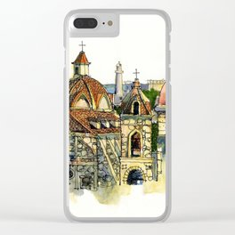 Hemingway's Cuba:  Old Havana Clear iPhone Case