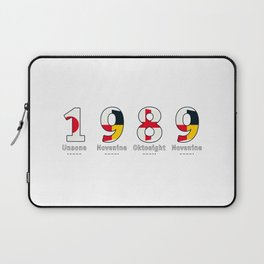 1989 - NAVY - My Year of Birth Laptop Sleeve