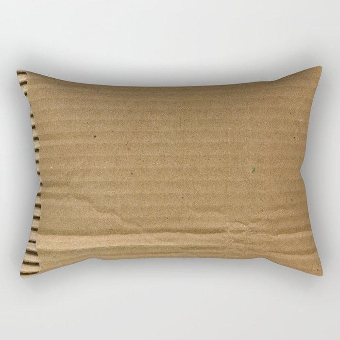 Cardboard Paper Rectangular Pillow