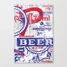 Beer Me: PBR Canvas Print