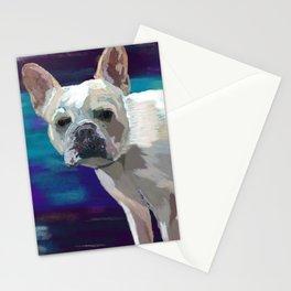 Kira the French Bulldog Stationery Cards