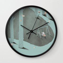 Het Prullalamonster print #2 Wall Clock