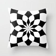 Kaleidoscope 'K2 SQ' Throw Pillow