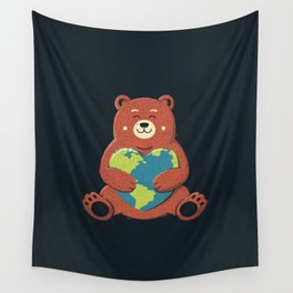 Earth Love Wall Tapestry