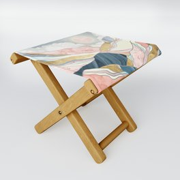 Spring Morning Folding Stool