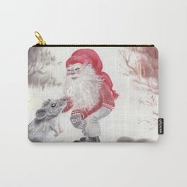 Gnome and mouse Carry-All Pouch