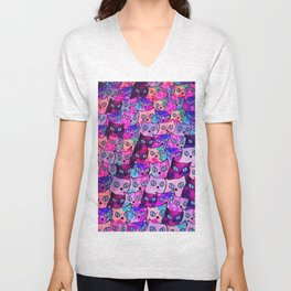 cats new color popularity-199 Unisex V-Neck