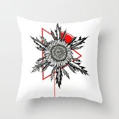 Eguzkilore Throw Pillow