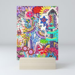 Mountain Abstract Mini Art Print