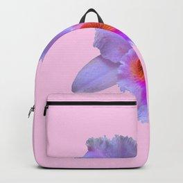PINK ART TROPICAL CATTLEYA ORCHID FLOWER Backpack