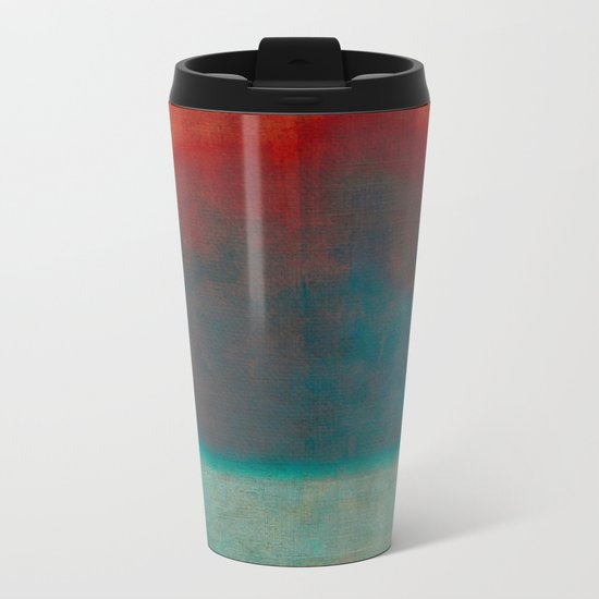 Home by the Sea Metal Travel Mug