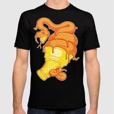 Snake Cone Mens Fitted Tee Black X-LARGE