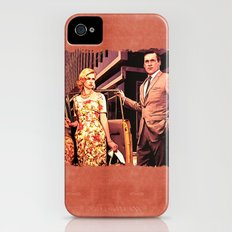 Betty & Don Draper from Mad Men - Painting Style Slim Case iPhone (4, 4s)