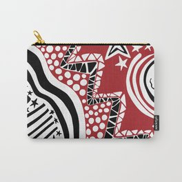 Soul Of The Dream Desert - Star Gazer (Black and Red Edition) Carry-All Pouch