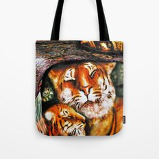 PERSIAN TIGER Tote Bag