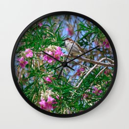 Hello Spring! Wall Clock
