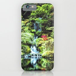 Portland Japanese Garden iPhone Case