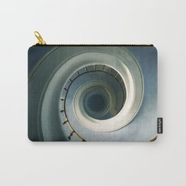 Pretty blue staircase Carry-All Pouch