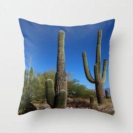 Life In The Desert Throw Pillow