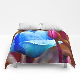 Majestic Tulips Comforters