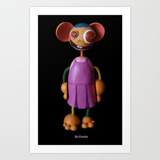 Bia Favolas Art Print