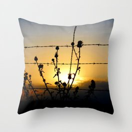 The Cheap Seats Throw Pillow
